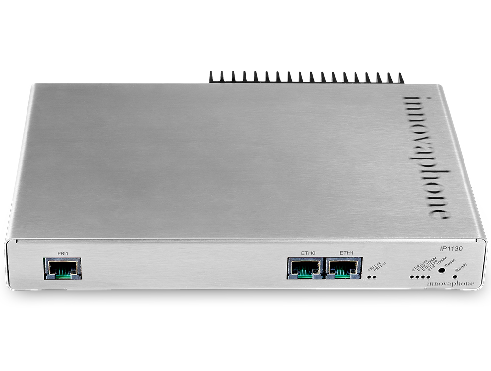 innovaphone voip gateway IP1130 frontal de