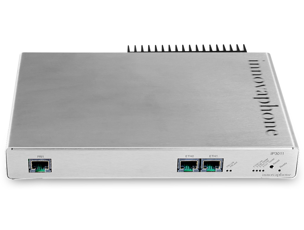 innovaphone voip gateway IP3011 frontal de