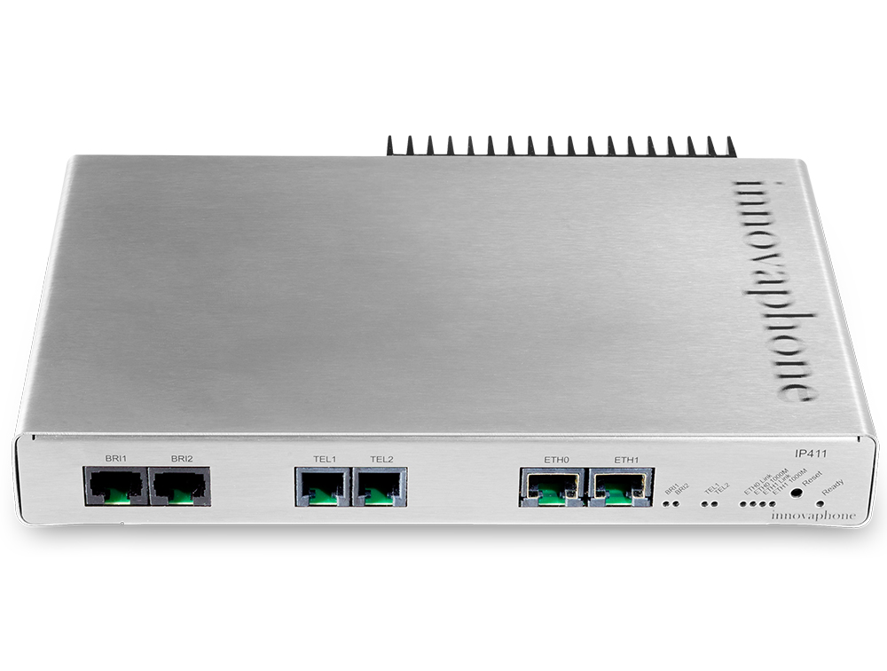 innovaphone voip gateway IP411 frontal de